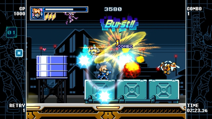 Mighty Gunvolt Burst